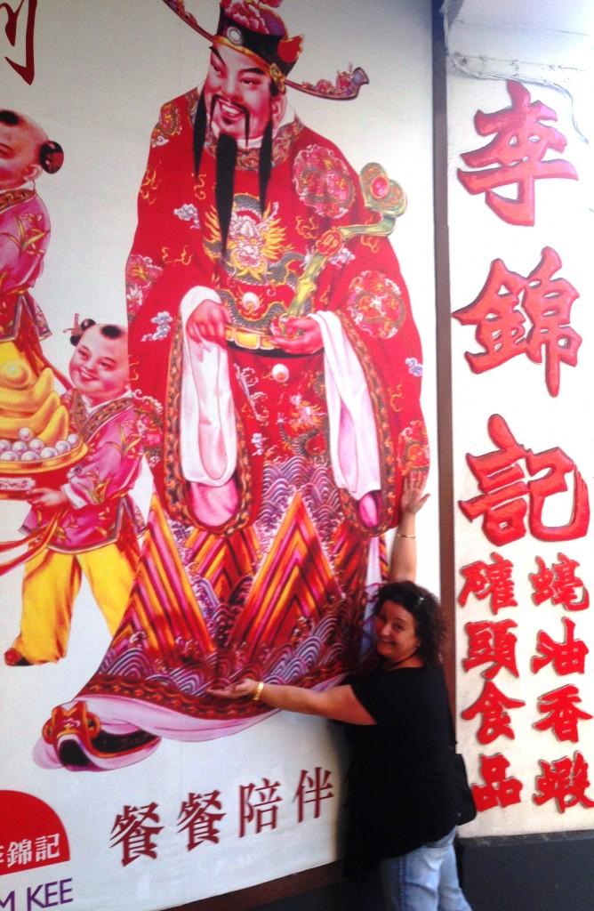 Lee Kum Kee shop in Macau