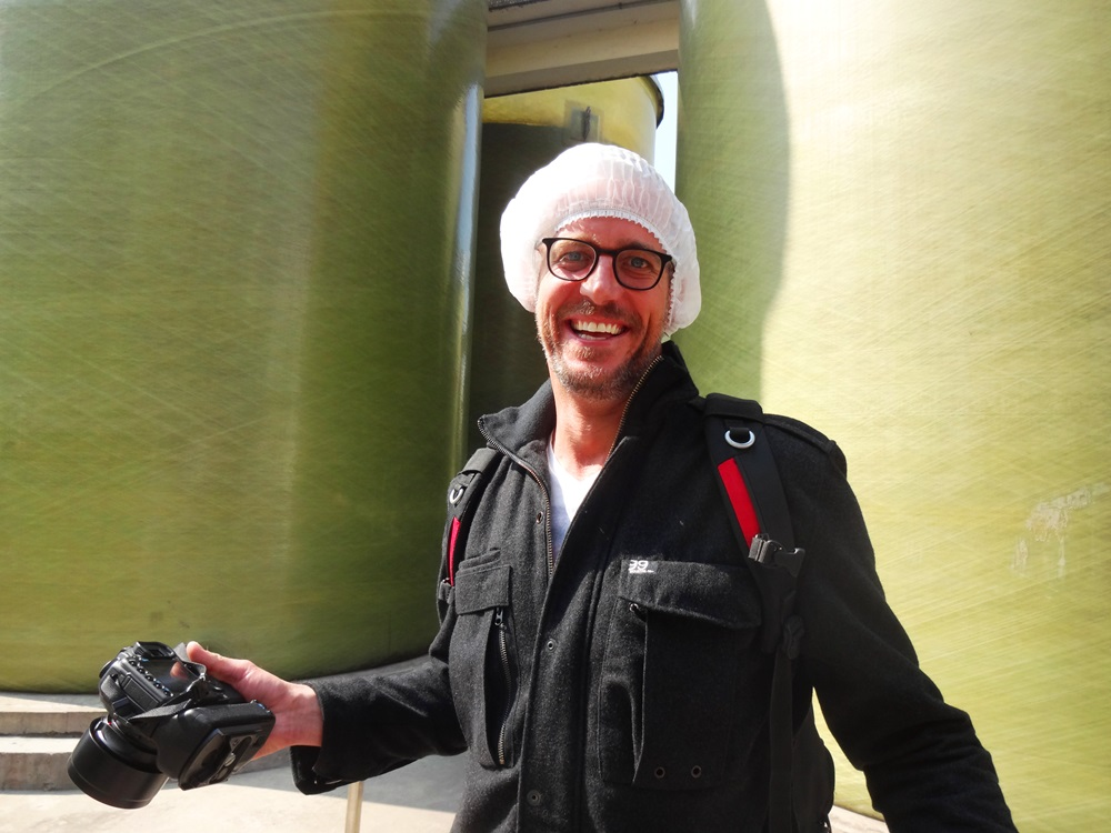 ed in a hairnet