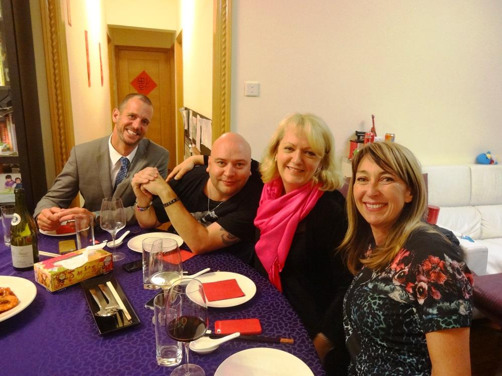 ed, christian, valli and maeve