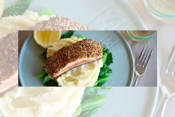 Dukkah Crusted Salmon Fillet