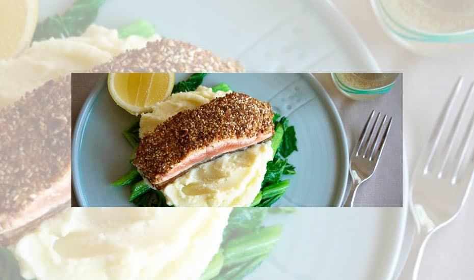 Dukkah Crusted Salmon Fillet