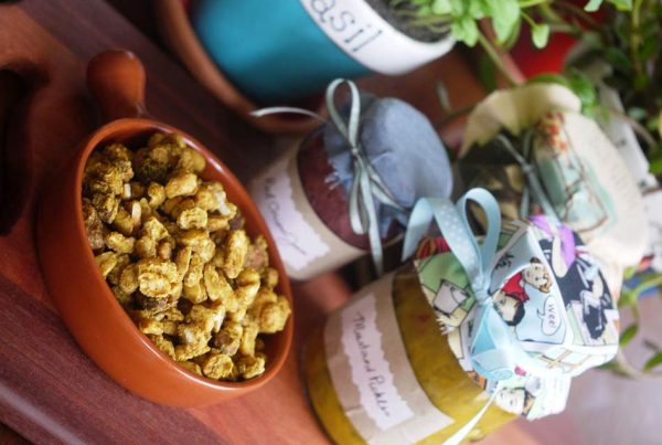 Spiced Christmas Nuts Recipe - Julie Goodwin