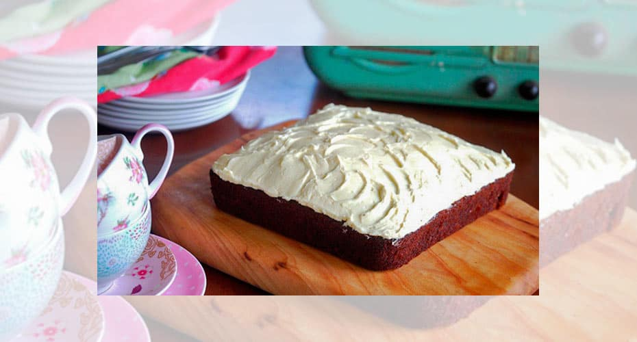 Carrot Cake with Cream Cheese Frosting - a Julie Goodwin recipe