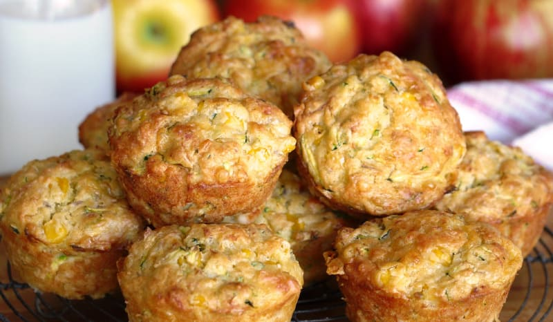 Cheesy Lunch Muffins