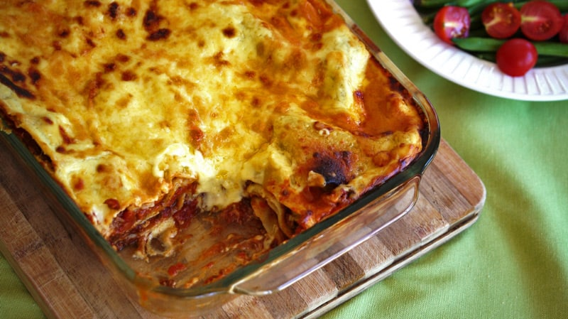 Lasagne How We Like It At Our Place A Julie Goodwin Recipe