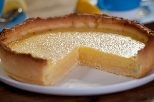 Lemon and Lime Tart | a Julie Goodwin recipe