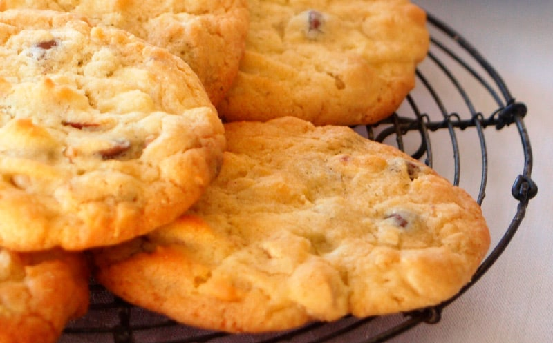 Pecan & White Choc Chip Cookies - a Julie Goodwin recipe