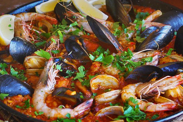 Paella - a Julie Goodwin recipe