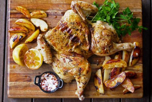 Spiced Chicken with Potatoes