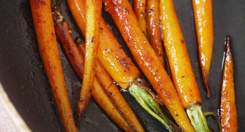 Honeyed Dutch Carrots