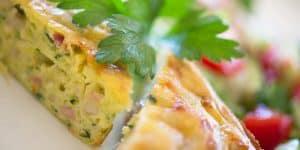 Zucchini slice | a Julie Goodwin recipe