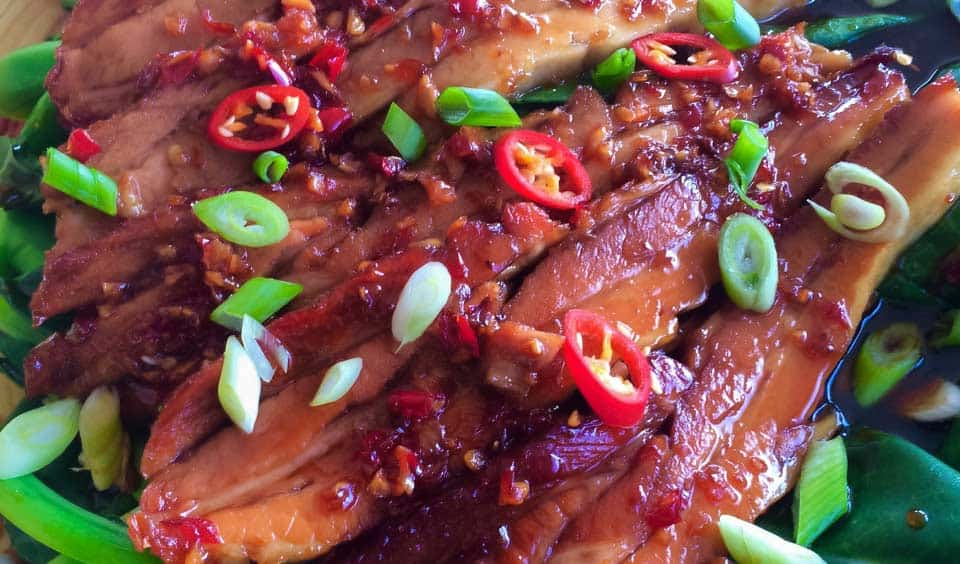 Chilli Caramel Pork