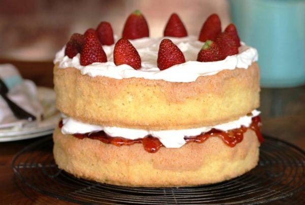 Grandma's Sponge Cake